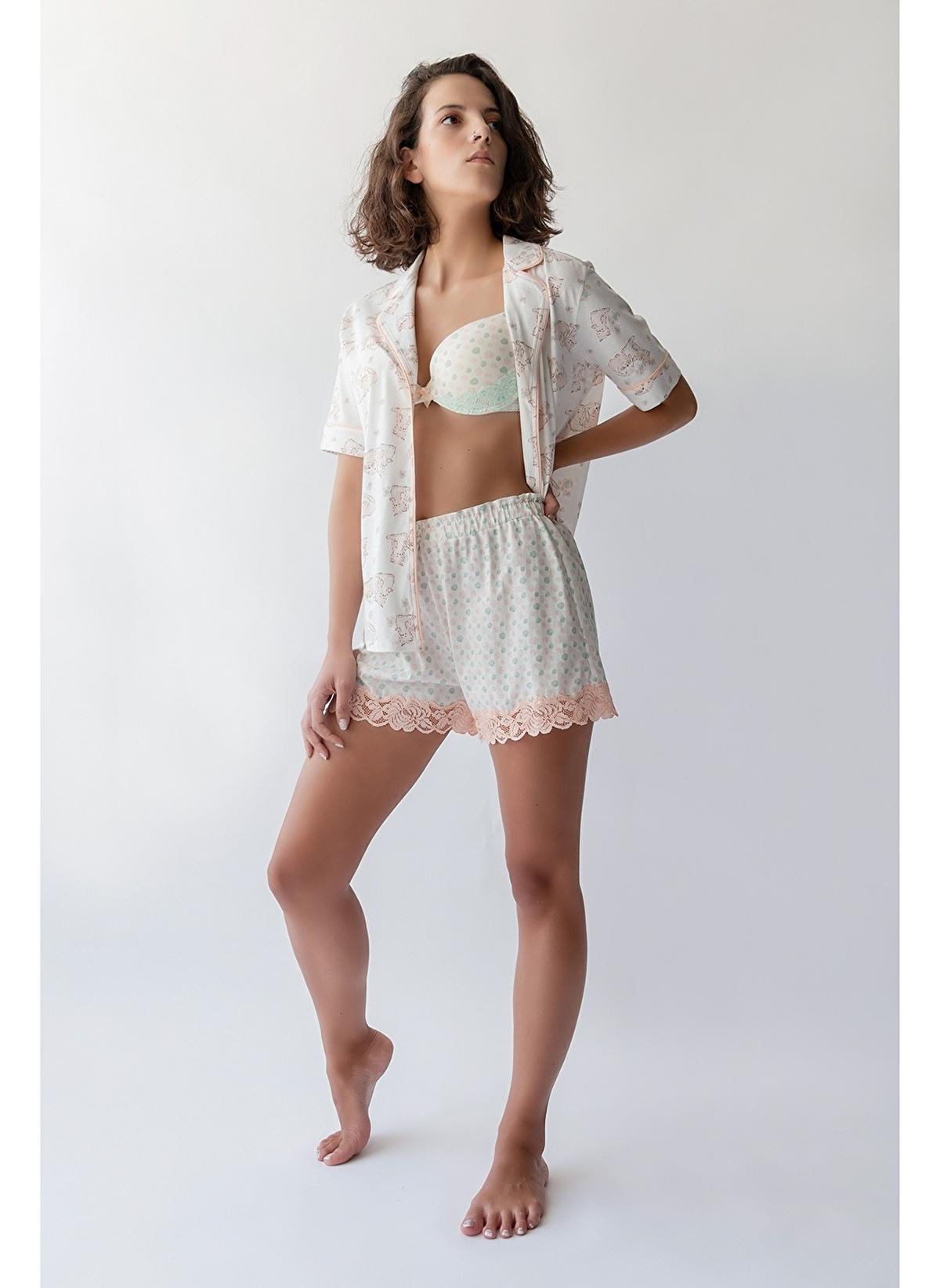 Hays Pijama Altı 29540-b131 Kadın Yüksek Bel Dantel Detay – 89.99 TL
